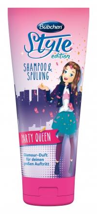 """Šampūns un balzāms """"Ballīšu karaliene"""""""