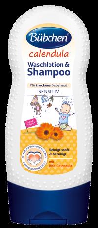 """""""Calendula"""" Mazgāšanās losjons un šampūns"""